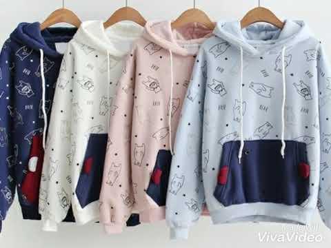 Những Mẫu áo Hoodie đẹp Dành Cho Nữ