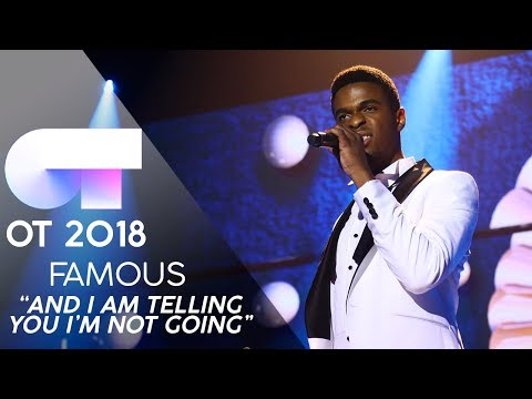 """AND I AM TELLING YOU I'M NOT GOING"" 