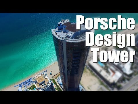 Walkthrough Porsche Design Tower, $32.5M Penthouse.