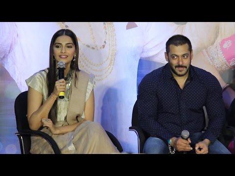 Question Answer Session   Salman Khan   Sonam Kapoor   Sooraj Barjatya   PRDP Success