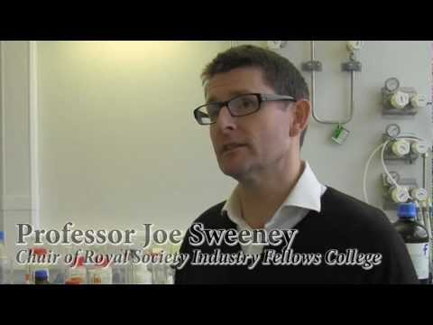 Professor Joe Sweeney, Chair, Royal Society Industry Fellow College - University of Huddersfield