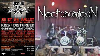 Necronomicon LIVE - Heavy MTL 2011