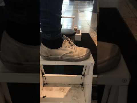 How to clean super dirty white vans