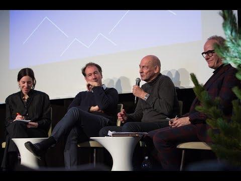 Engadin Art Talks 2018 I Rem Koolhaas, Emily Segal and Niklas Maak in Conversation