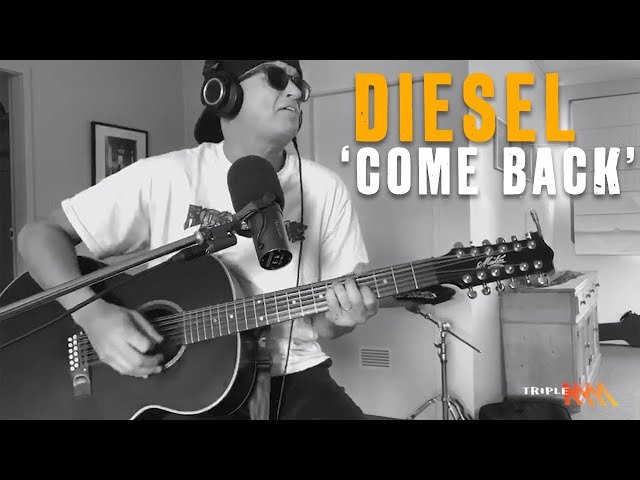 Diesel Performs New Single 'Come Back' | Triple M