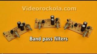 Active Band Pass Filter