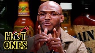 Kamaru Usman Goes To The Mat Against Spicy Wings | Hot Ones