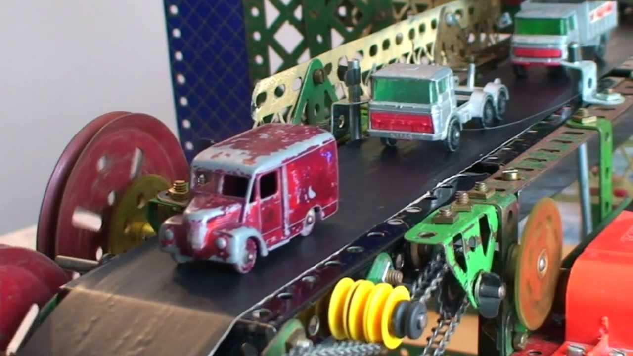 Wrecked toy cars 1960 -1980 Scapyard Run - YouTube