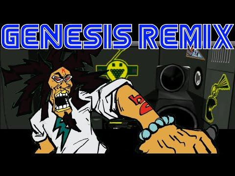Jet Set Radio - B.B. Rights - Funky Radio (Sega Genesis Remix)