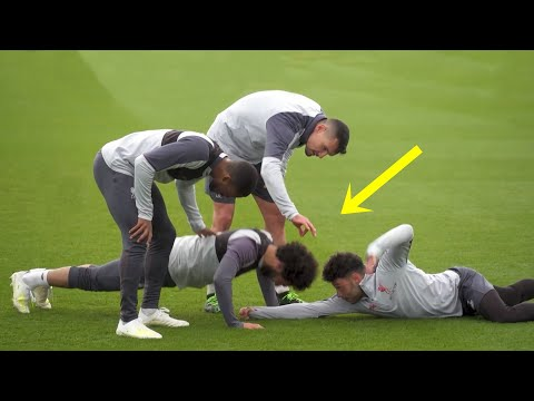 Funny Moments in Training ● Salah, Mbappe, Ronaldo