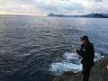 釣具のイヴ:大分県鶴見  沖磯 ナガウドでのフカセ釣り 2017.01