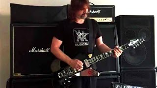 starfire paul stanley by washburn signature electric guitar ps12b review and demo