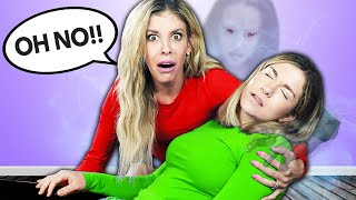MADDIE FAINTED! We Found a REAL GHOST in Our House
