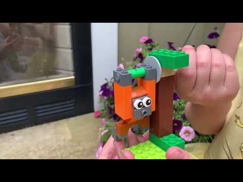 Classic LEGO Bricks and Gears 10712: Helicopter and Orangutan