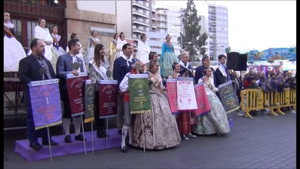 Fallas Sagunto 2015 Entrega Premios