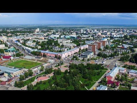 Барнаул, жд, день (аэросъемка 4к)