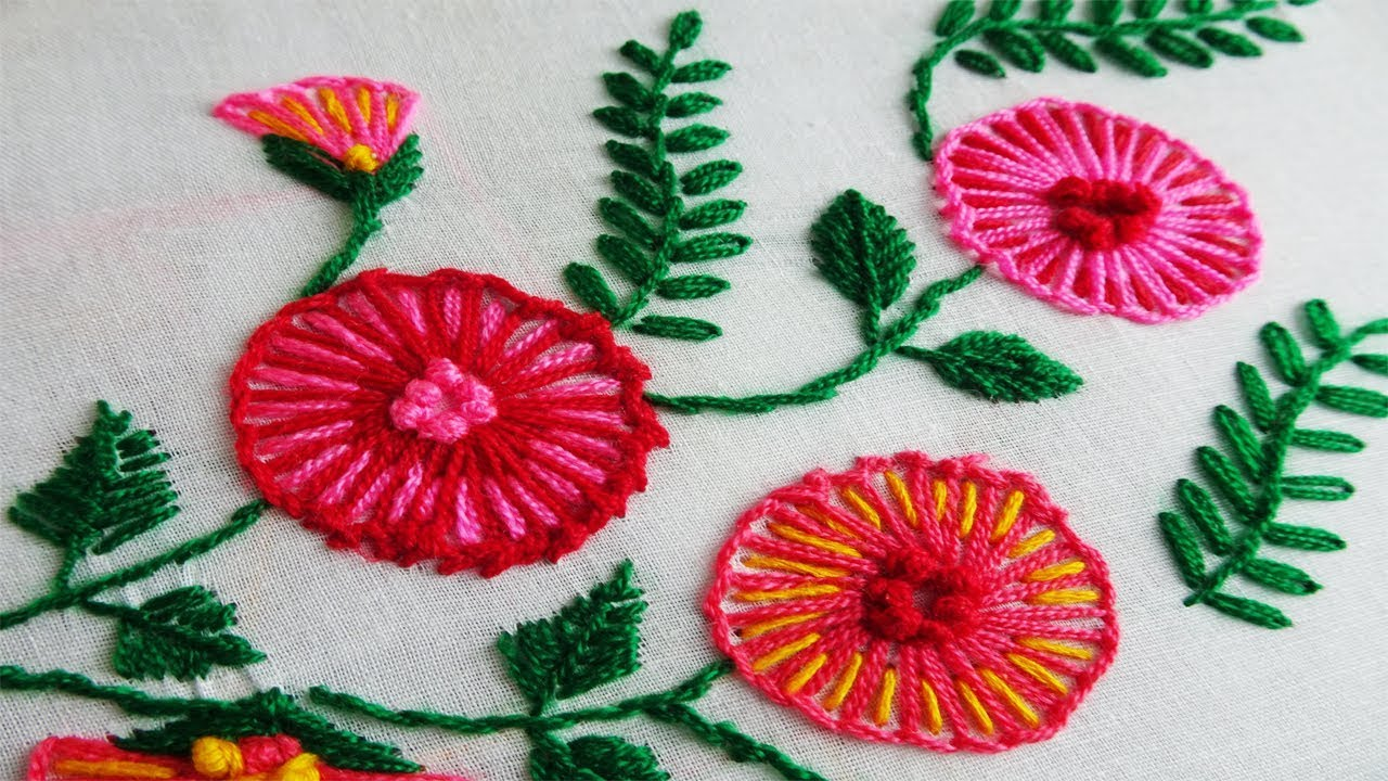 Flower Embroidery Boat Neck Churidar Kurti Hand Embroidery Stitches Youtube,Fractal Design Meshify C Atx Mid Tower Case How Many Fans
