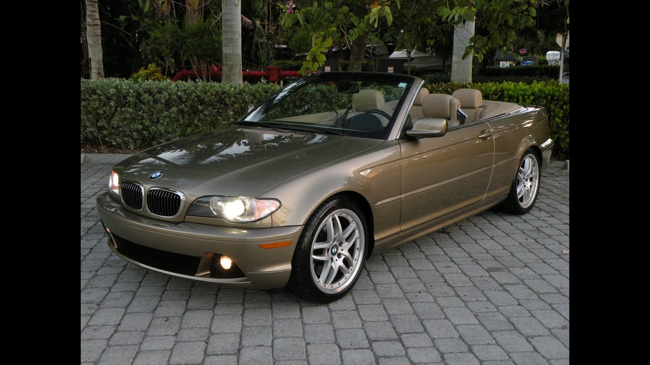 2005 bmw 330ci convertible for sale auto haus of fort myers florida youtube