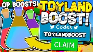 SECRET TOY BOOST CODES IN UNBOXING SIMULATOR! Roblox *30 SX COINS!? *
