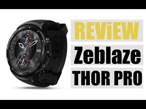 zeblaze-thor-pro-3g-smartwatch-phone-|-android-5.1-1gb-ram-16gb-|-first-look-★★-official-video