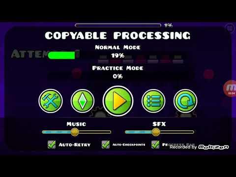 Создал уровень blast processing medium 😀