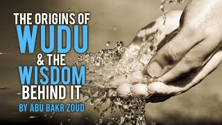 The Origins of WUDU (Ablution) & the WISDOM Behind it