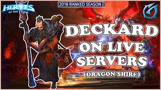 Grubby   Heroes of the Storm - Deckard - On Live Servers - HL 2018 S2 - Dragon Shire