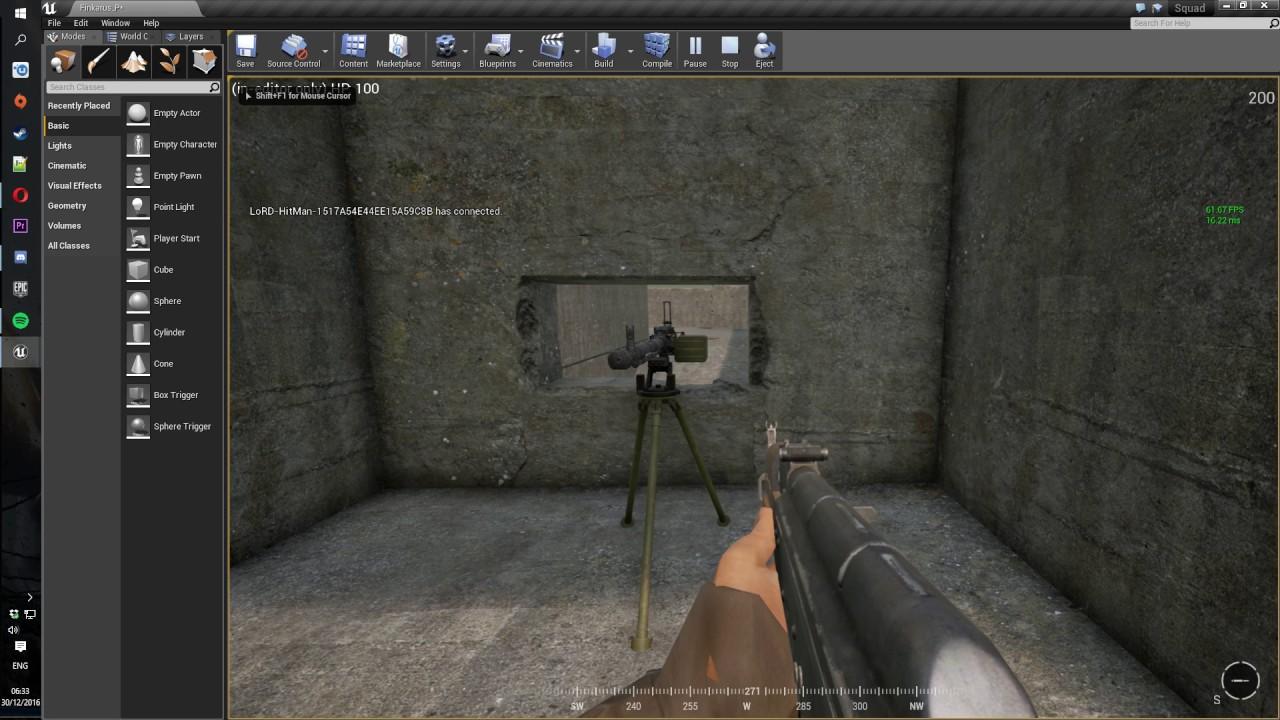 Squad SDK - building a bunker