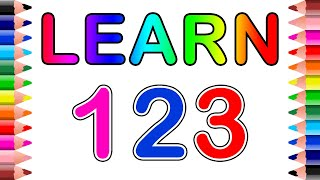 Learn Numbers for pre school kids  Numbers 123  Setoys