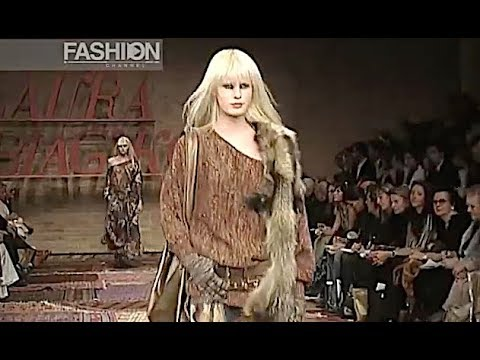 LAURA BIAGIOTTI Fall 2003 2004 Milan - Fashion Channel