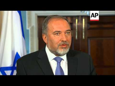 U.S. Secretary of State John Kerry welcomed Israel's Foreign Minister Avigdor Lieberman to the State