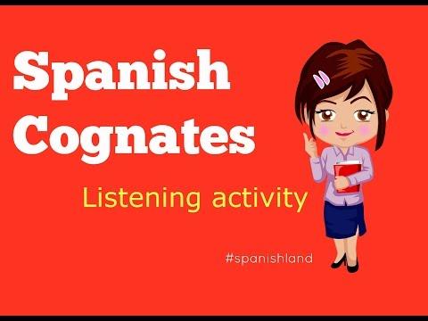 Cognados en Español | Spanish Cognates
