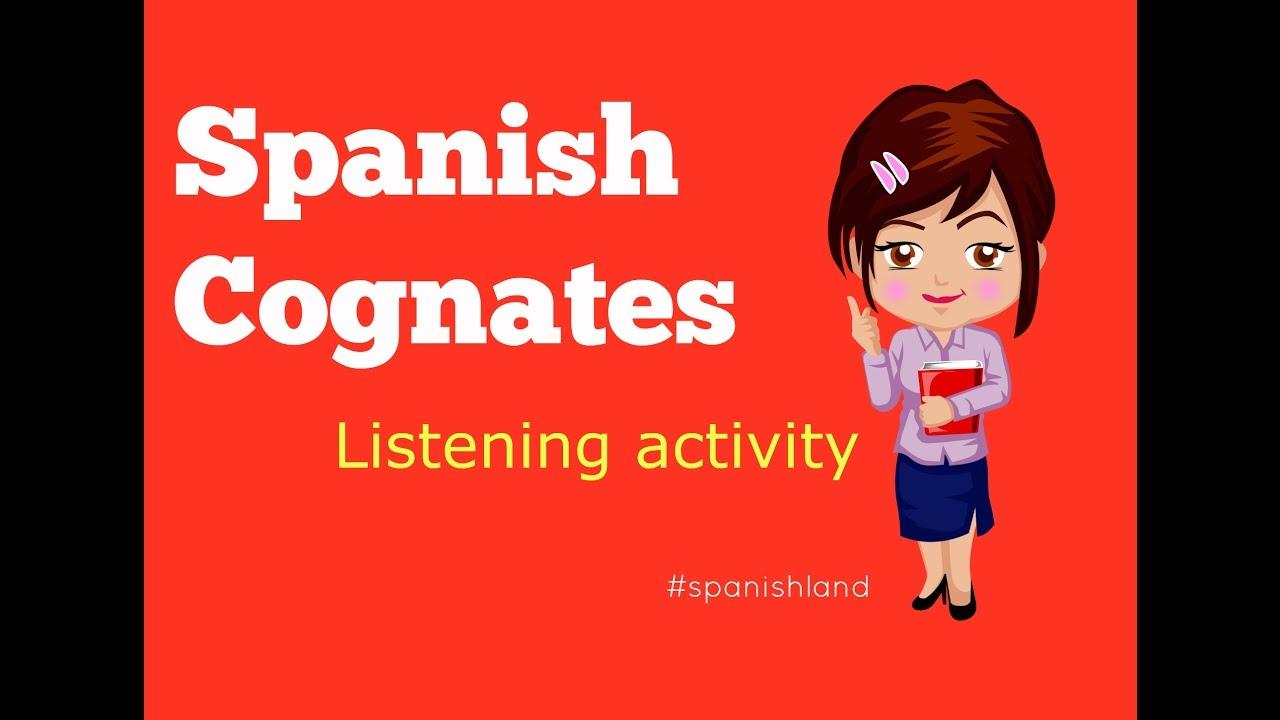 Cognados En Espaol Spanish Cognates Youtube