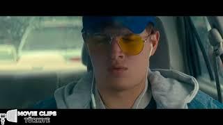 Baby Driver  Polisten Kaçış Sahnesi  TR Dublaj  HD