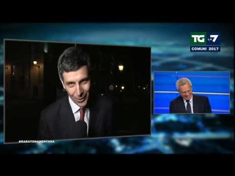 Enrico Mentana a Paolo Celata: dove sei stato tutta notte? In un'enoteca