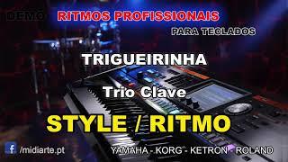 ♫ Ritmo / Style - TRIGUEIRINHA  - Trio Clave