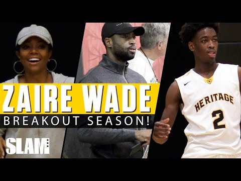 Dwyane Wade & Gabrielle Union Watch Zaire have BREAKOUT Seas
