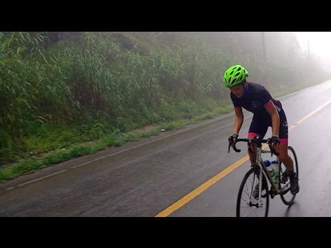 VEGAN GIRL CYCLES HIGHEST MOUNTAIN IN THAILAND | Doi Inthanon What I Ate