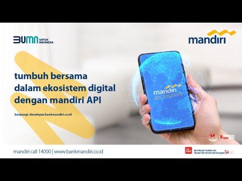 Live Webinar: Building Digital Ecosystem Through Mandiri API