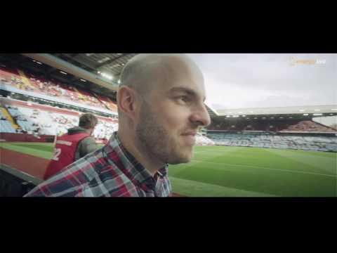 Energy Bet winners at Aston Villa stadium, video production CHM