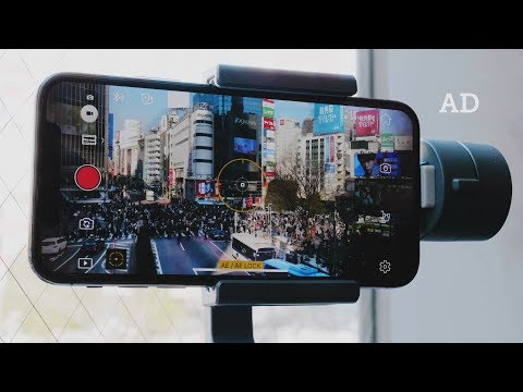 online store e85d2 a5e45 iPhone X with DJI OSMO MOBILE 2 — Shibuya, Japan - YouTube