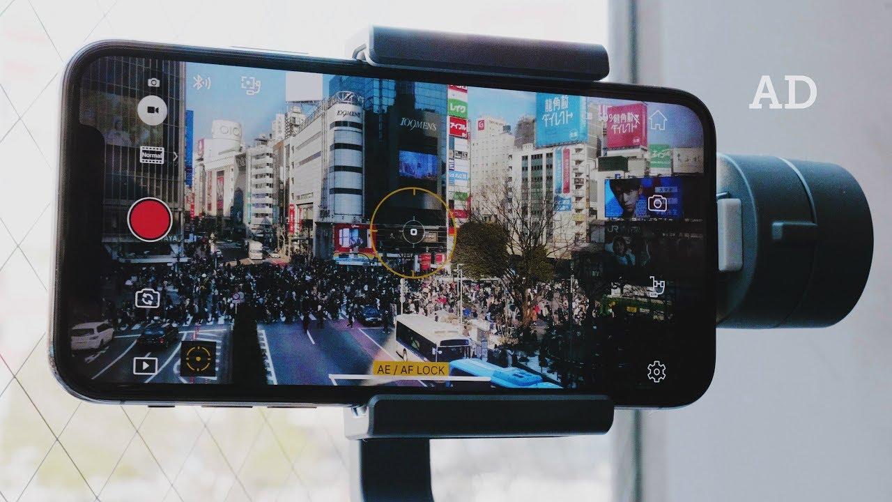 newest 7ecc1 4f7b9 iPhone X with DJI OSMO MOBILE 2 — Shibuya, Japan