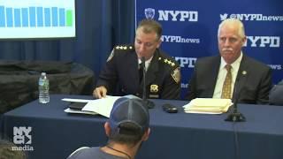 Mayor de Blasio  Holds Media Availability Regarding Crime Statistics