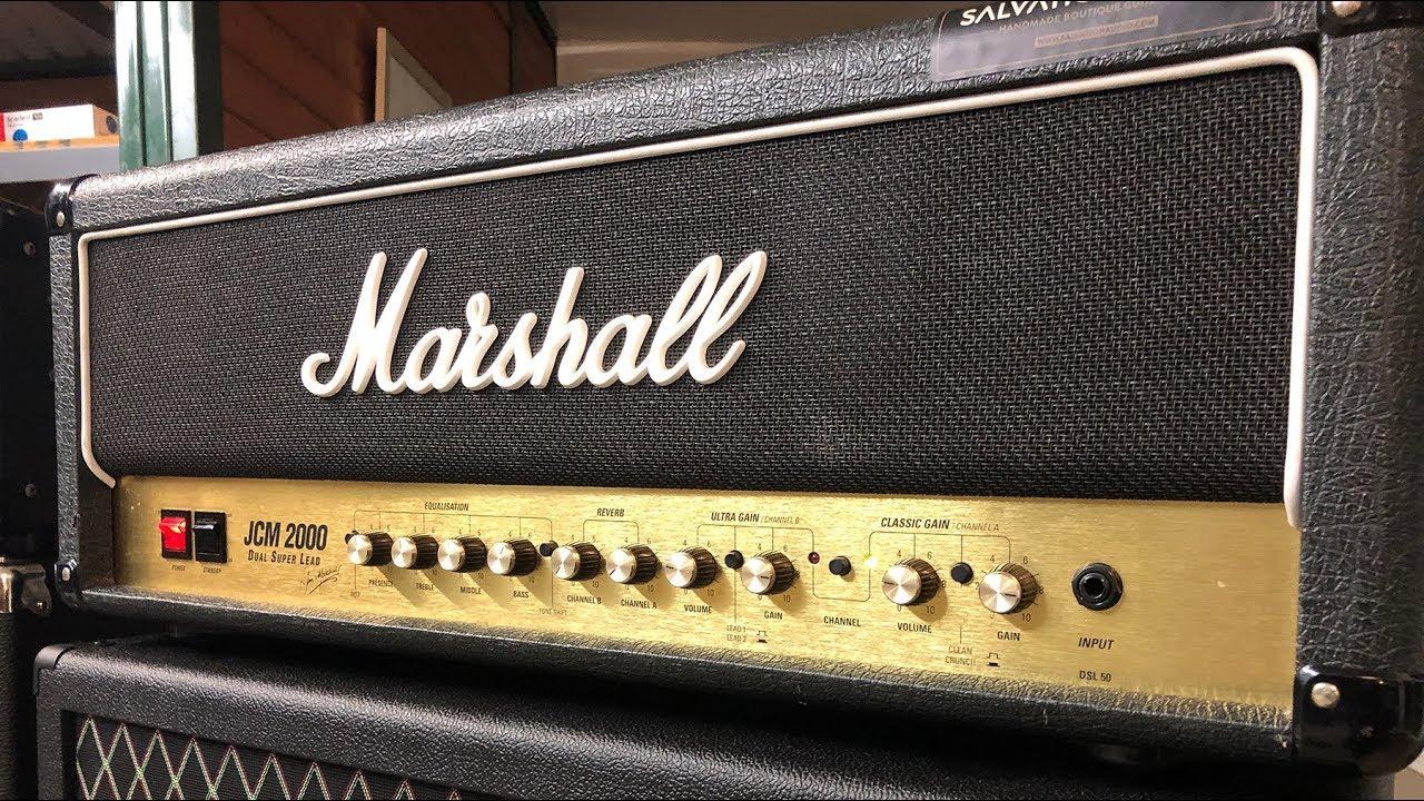 Kruse Kontrol Amplification - Marshall JCM2000