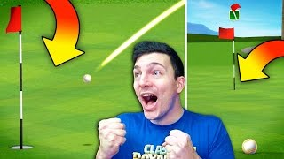 HE CHIPPED IT IN! - GOLF CLASH - NICK & MOLT
