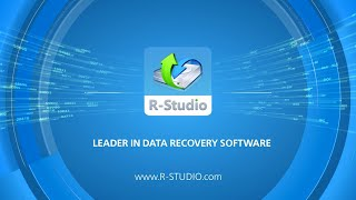 Emergency data recovery software R-STUDIO