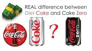 The REAL reason Coca-Cola made Zero besides Diet Coke / Light