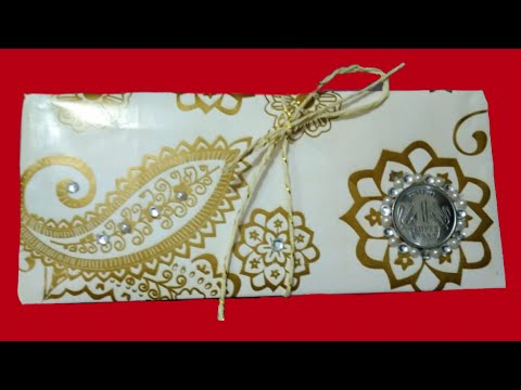 Diy Shagun Envelope| Paper Crafts