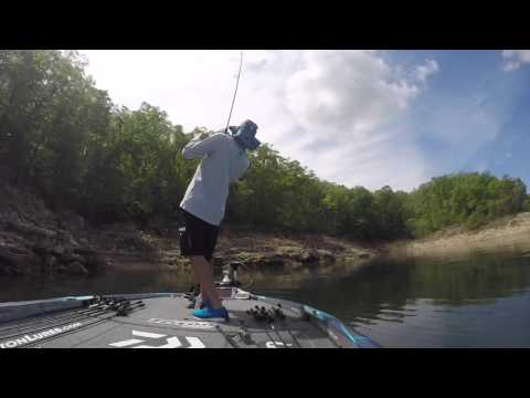 GoPro: Randy Howell catches a nice one on Norfork