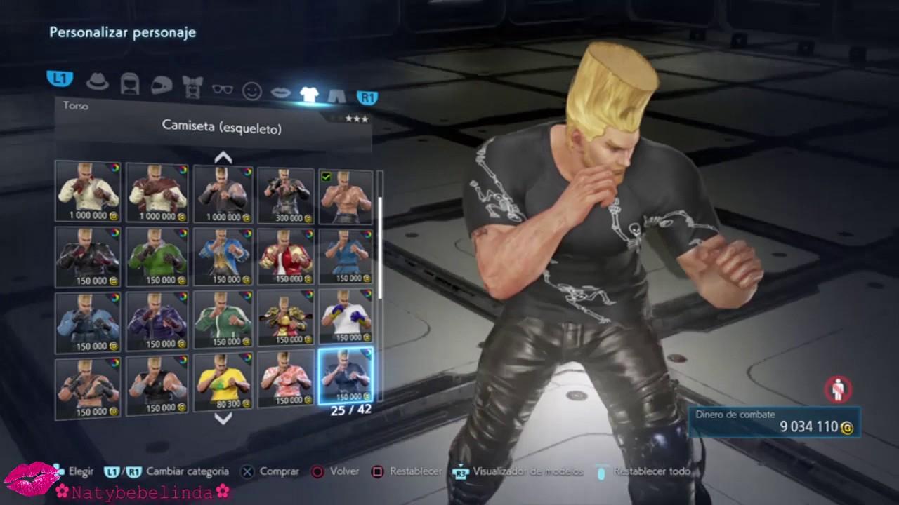 Tekken 7 Paul Phoenix Character Customization Youtube